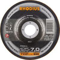Rhodius Schleifscheibe RS 24 125x7,0x22,23mm Aluminium Topline - 200357