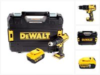 DeWalt DCD 778 NT Akku Schlagbohrschrauber 18V 65Nm + 1x Akku 5,0 Ah in TSTAK Box - ohne Ladegerät