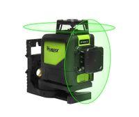 Huepar 902CG 3D 8 linie laser ebene 360 Selbst nivellierung 3D Laser Ebene Grün Strahl Leistungsstarke Laser Beam