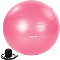 MOVIT® Gymnastikball mit Fußpumpe, 75 cm, pink