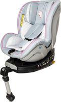 Sarah Harrison Baby- und Kindersitz JET Heart by Osann mit ISOFIX - Geburt bis 18 kg (von Geburt bis ca. 4 Jahren) - grau