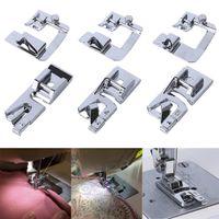 6PC Rollsaum-Druckfußnähmaschine für Adapter mit niedrigem Schaft ZZP200420829
