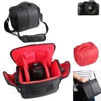 Für Panasonic Lumix DMC-FZ300 Kameratasche Fototasche Umhängetasche Schultertasche Zubehör Tasche für Panasonic Lumix DMC-FZ300 mit