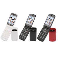 OLYMPIA Primus Senioren Komfort Mobiltelefon, Farbe:Weiß