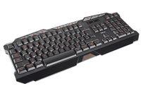 Trust 18913 GXT 280 LED Illuminated Gaming Tastatur DE schwarz (deutsches Layout, QWERTZ, beleuchtet, 8 Media-Tasten