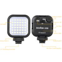 Godox LED36 Video Light 36 LED-Leuchten fuer DSLR Kamera Camcorder Mini DVR