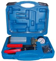 Bremsenentlüfter Bremsenentlüftungsgerät Vakuum Vakuumpumpe Vakuumtester Set Anzeige bis 760 mm Hg