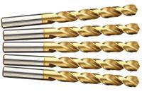 10 HSS TiN Metallbohrer Ø 7,5 mm Titan nitriert Zentrierbohrer Bohrer bohren