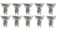 BRILLIANT 10 x Halogen Strahler 42 Watt GU10 warm-weiß Lampe Leuchtmittel Haushaltspack