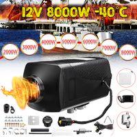 Warmtoo 8KW 12V Air Diesel Luftheizung Standheizung PKW Heizgerät Heizung LCD Schalter