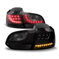 Original LO-Style LED Rückleuchten Schwarz Smoke SET für VW Golf 6 VI MK6 Limo