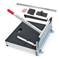 Profi XXL Laminatschneider mit Rollen 630 mm inkl. Verlege-Set und super scharfen Klingen   Modell PLC645H   Parkettschneider