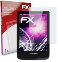 atFoliX FX-Hybrid-Glass Panzerfolie kompatibel mit PocketBook Touch Lux 4 Glasfolie