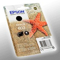 Epson Tintenpatrone schwarz 603   T 03U1