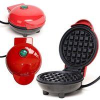 Mini Waffeleisen Waffelautomat Waffelmaker Antihaft Elektrogrill Waffle Maker 18x14.5x9cm