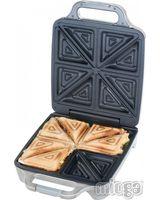 Cloer 6269 Sandwichmaker 4er XXL 4-fach Sandwichmaker