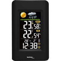 Technoline WS 6447 Wetterstation Farbdisplay Hygrometer Temperatur Uhr Wecker