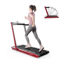 Laufband Klappbar mit bluetooth (Tablet, Smartphone) inkl. Laufbänder, LCD-Display Elektrisches Fitnessgerät Heimtrainer Klappbar