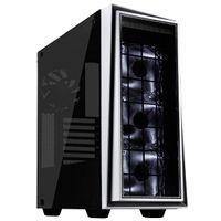 SilverStone RL06 - Tower - PC - Gehärtetes Glas - Silber - Weiß - ATX,Micro ATX - Taschenlüfter