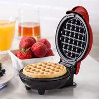 Waffelautomat klassische Herzwaffeln Waffeleisen, elektrische Backform, Back Kuchenmacher für Haushalt Kinder