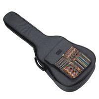 Premium Gitarrentasche Gig Bag Wasserdichte Gitarre Tasche Gitarren Bag Tragetasche für 40 41 Zoll Konzertgitarren Akustikgitarren