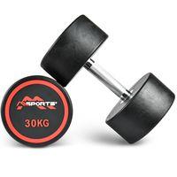 Rundhantel Premium - Kurzhantel - 2,5-50 kg, Gewicht:30 kg