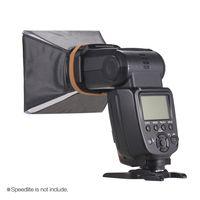 Tragbar Fotografie Blitz-Diffusor Mini Softbox Satz fuer Canon EOS Nikon Olympus Pentax Sigma Sony DSLR Speedlite Flash-