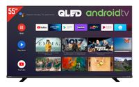 Toshiba 55QA4C63DGX QLED Fernseher / Android TV (4K Ultra HD, HDR Dolby Vision, Triple-Tuner, Google Play Store, Google Assistant, Bluetooth)