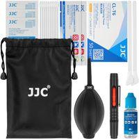 JJC Kamerareinigungsset ALLROUND Kamera Reinigungskit | 21-TEILIGES Set | PROFI Reinigungssatz für DSLR Kameras | Canon Nikon Pentax Sony | CLEANING Kit