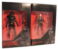 Star Wars The Black Series - Jyn Erso & Death Trooper 2er Pack Actionfiguren