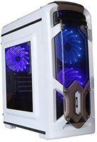 Marvo CA-113WT PC Mini gaming Tower , weiß