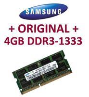 Samsung 4 GB 204 pin DDR3-1333 PC3-10600 CL9 SO-DIMM DDR3-1333Mhz