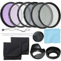 Professionelle Kamera UV CPL FLD Objektivfilter Kit und Altura Foto ND Neutral Density Filter Set Fotografie Zubehoer 58mm