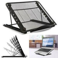 1x Notebook Aufsteller  Laptop Ständer Tablet Halter Halterung faltbar 6 Winkel Einstellpositionen einstellbar Klappbar