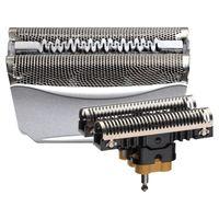 Braun Elektrorasierer Ersatzscherteil 51 S Silber – Kompatibel mit Series 5 Rasierern