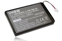 vhbw Li-Polymer Akku 750mAh (3.7V) für eBook Reader Sony Portable Reader PRS-300, PRS-300SC, PRS-300RC, PRS-300BC wie LIS1382(S), 9702A50844.