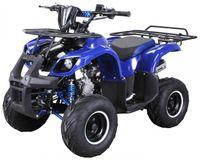 MIDI Kinder Pocket Quad ATV S-8 125 cc Farmer (Blau)