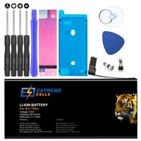 Extremecells Akku inkl. Werkzeug für Apple iPhone 7 Plus Batterie Accu Battery