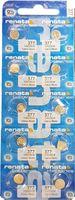 10x RENATA AG 4 Uhrenbatterie 377 für Armbanduhr Knopfzelle CX 626 V377 SR626W