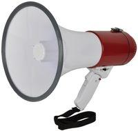 Adastra MG-220F | High Output Handheld Megafon mit faltbarem Griff | 30 W | integriertes Mikrofon |Sirene-Funktion | EL952020