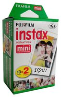 Fujifilm Instax Mini Farbfilm Doppelpack 2x10 Aufnahmen