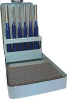 PROMAT Splintentreibersatz CV. 6tlg. 3-6/8/10mm Metallkassette