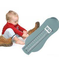 Babyschuhe Fußmessgerät, Kinder von 0 bis 8 Jahren, blau, 2 Stück