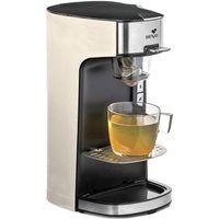 Senya Tea Time Teemaschine, elektrische Teekanne für losen Tee oder Teebeutel, mit abnehmbarem Teeei, Cream 1415 W