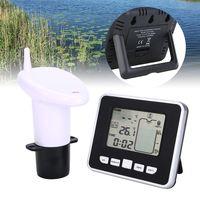 Ultraschall-Wassertank Füllstandsanzeige Temperatursensor Anzeige Zeitalarm Messumformer Messgerät