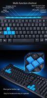Gaming Tastatur Maus Set kabellose Tastatur und Maus Schwarz Gamer Tastatur