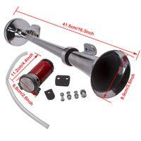 12V 150db Nebelhorn Lufthorn Druckluft Horn Hupe Kompressor Kit für PKW LKW