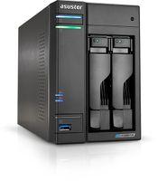 Asustor AS6602T, NAS, Tower, Intel Celeron J, J4125, Schwarz