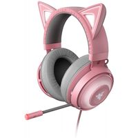 RAZER Kraken Kitty USB Gaming Headset mit Chroma Lighting Quartz Edition Pink