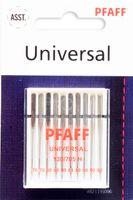 Pfaff Universal Nadeln 130/705 H, Stärke 2x70/6x80/2x90 (10 Stück)